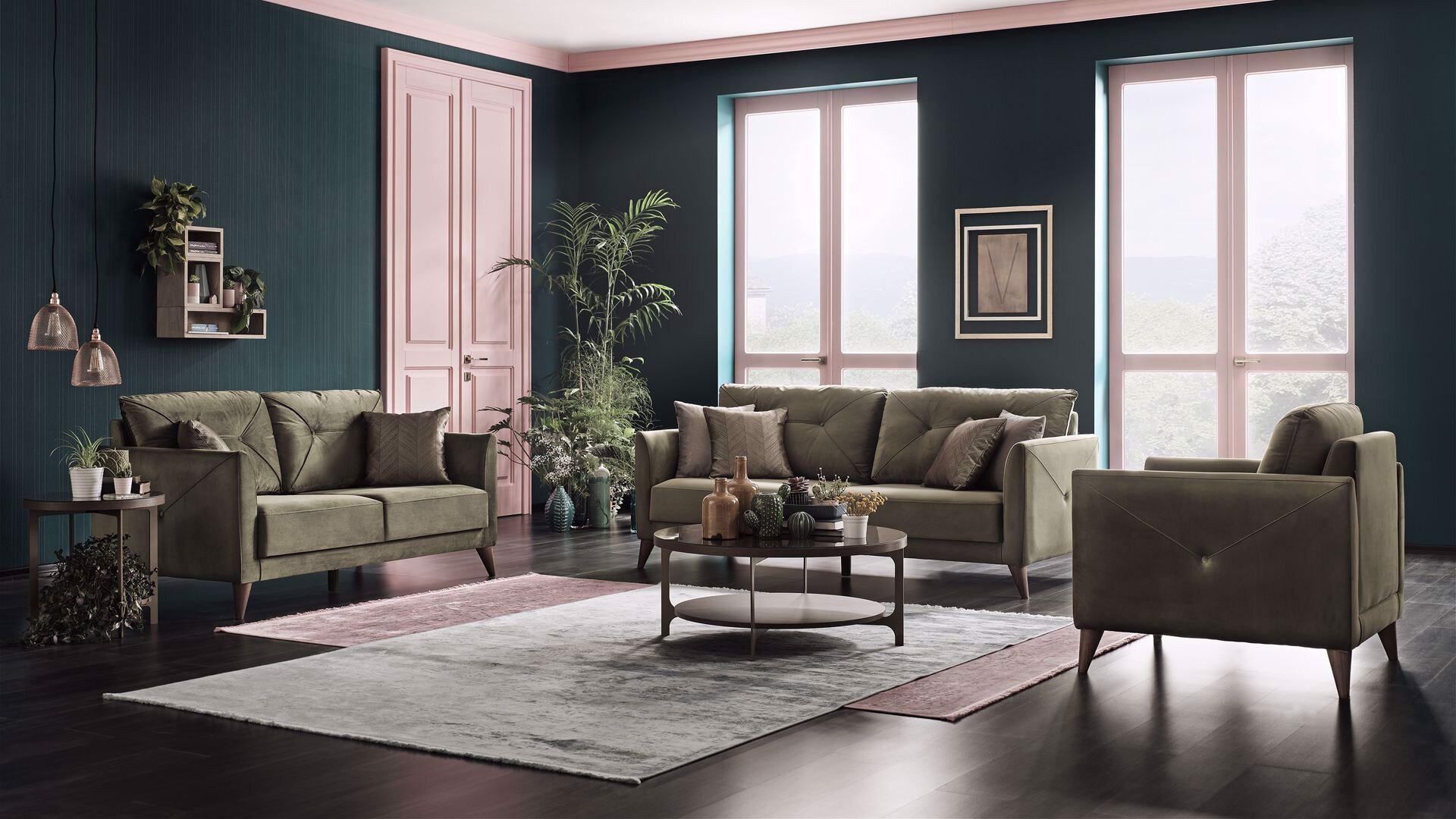 Mantini Two Seater Sofa