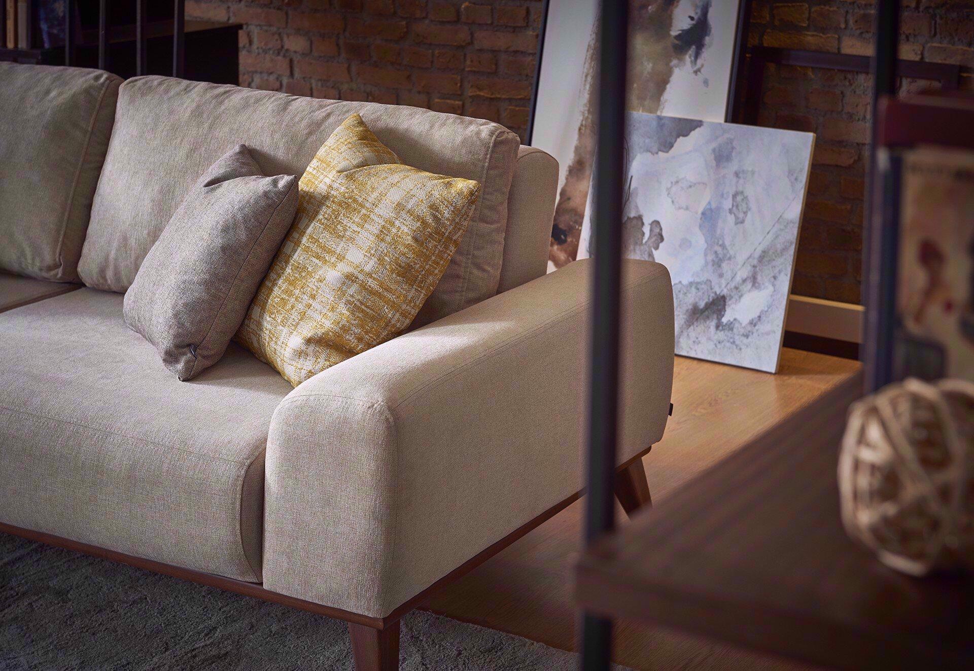 Forte Three Seater Sleeper Sofa