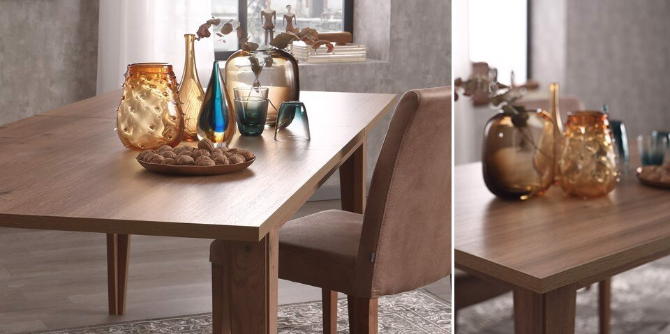 Ravenna Expandable Dining Table 90*160Cm