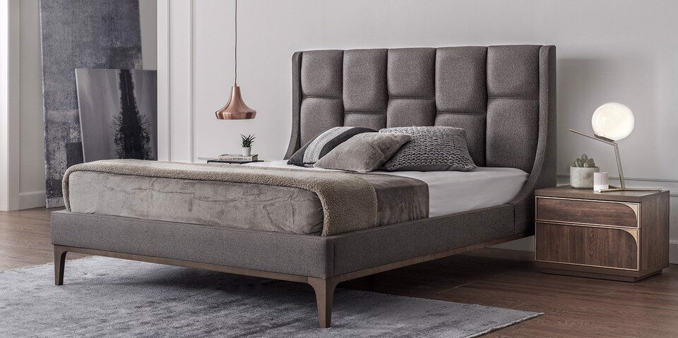 Gold Double Bedstead 180X200
