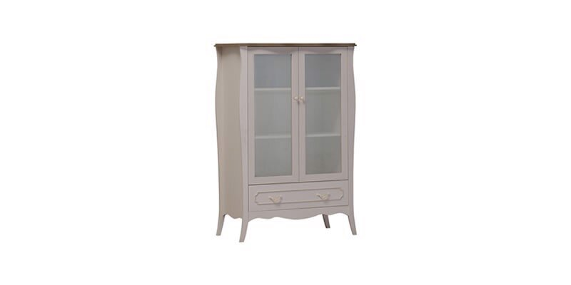 Riena Wide Display Cabinet