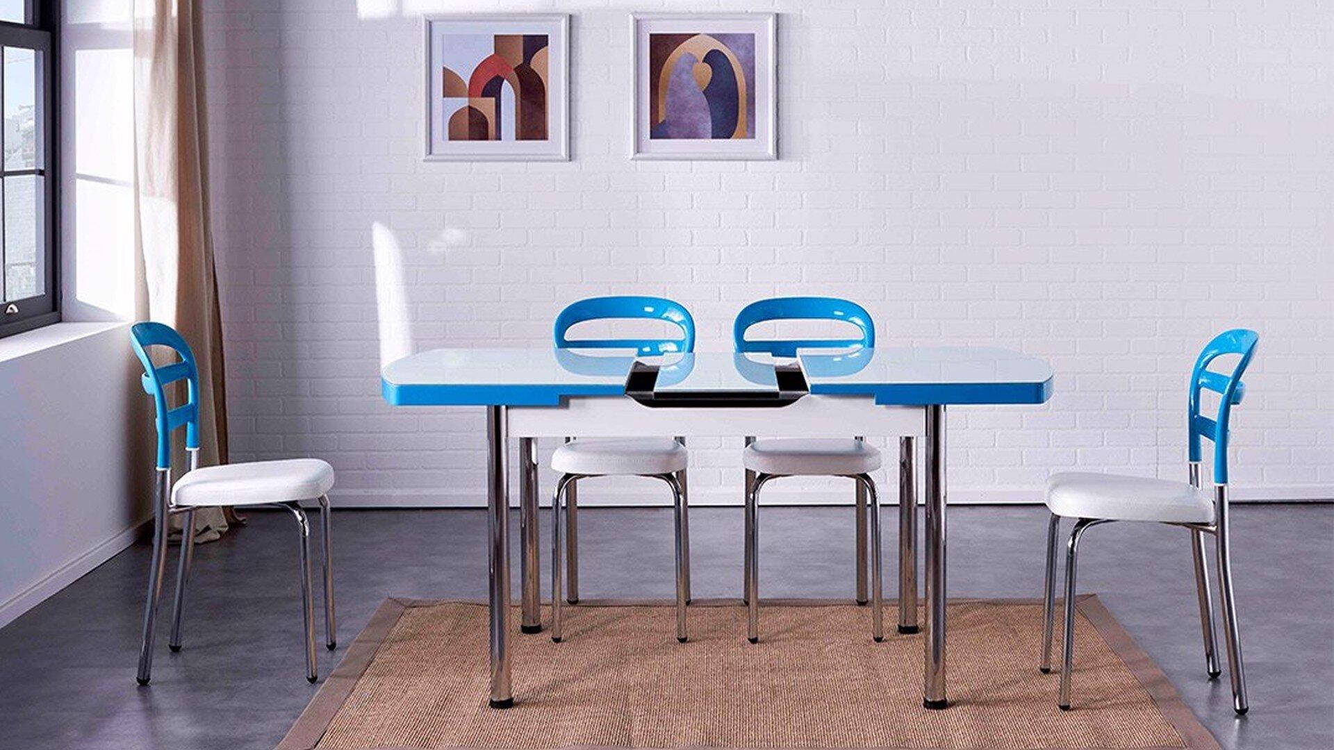 Noa Kitchen Chair (White)