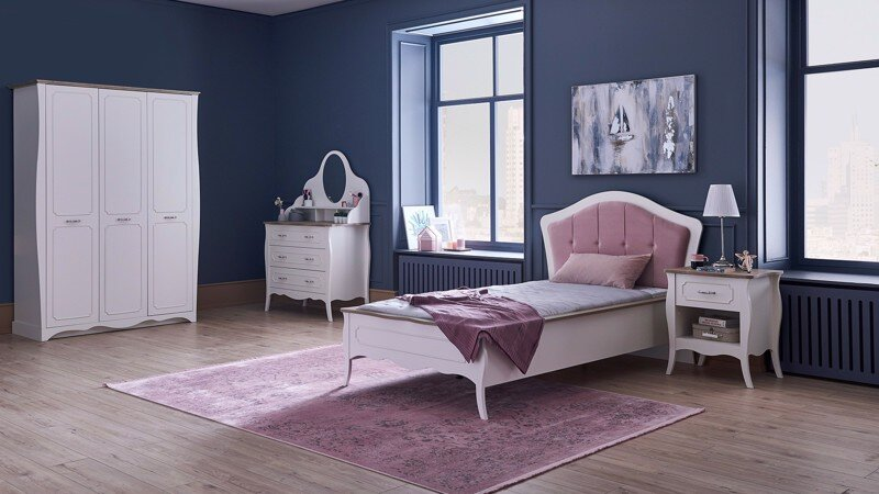 RIENA YOUNG 100x200 BEDSTEAD