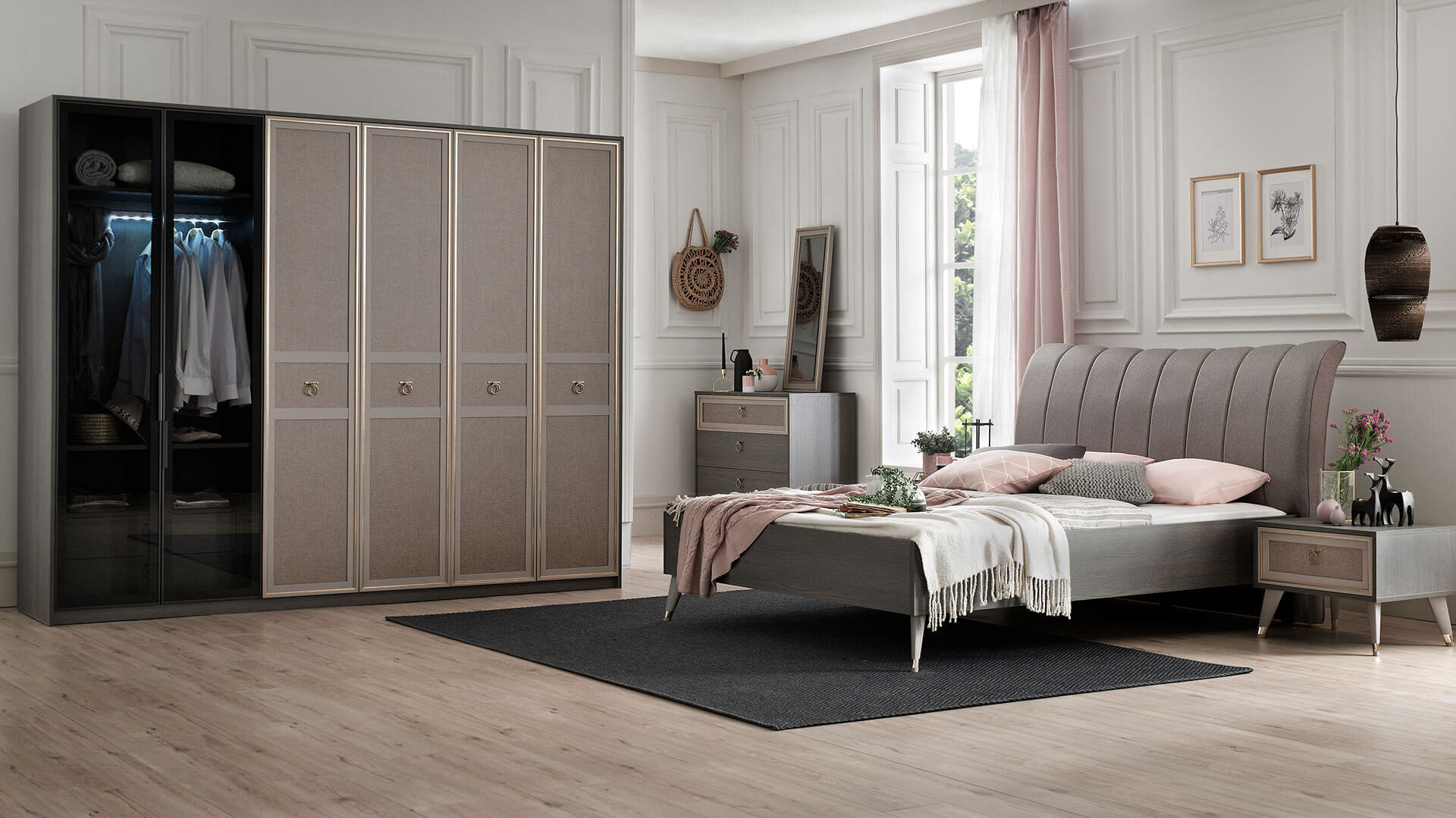 Hector Double Bedstead With Storage