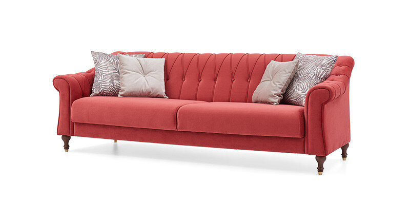 Laura Three Seater Sleeper Storage Sofa