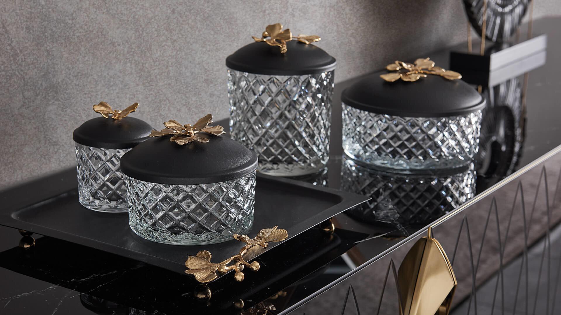Logan Glass Jar Small