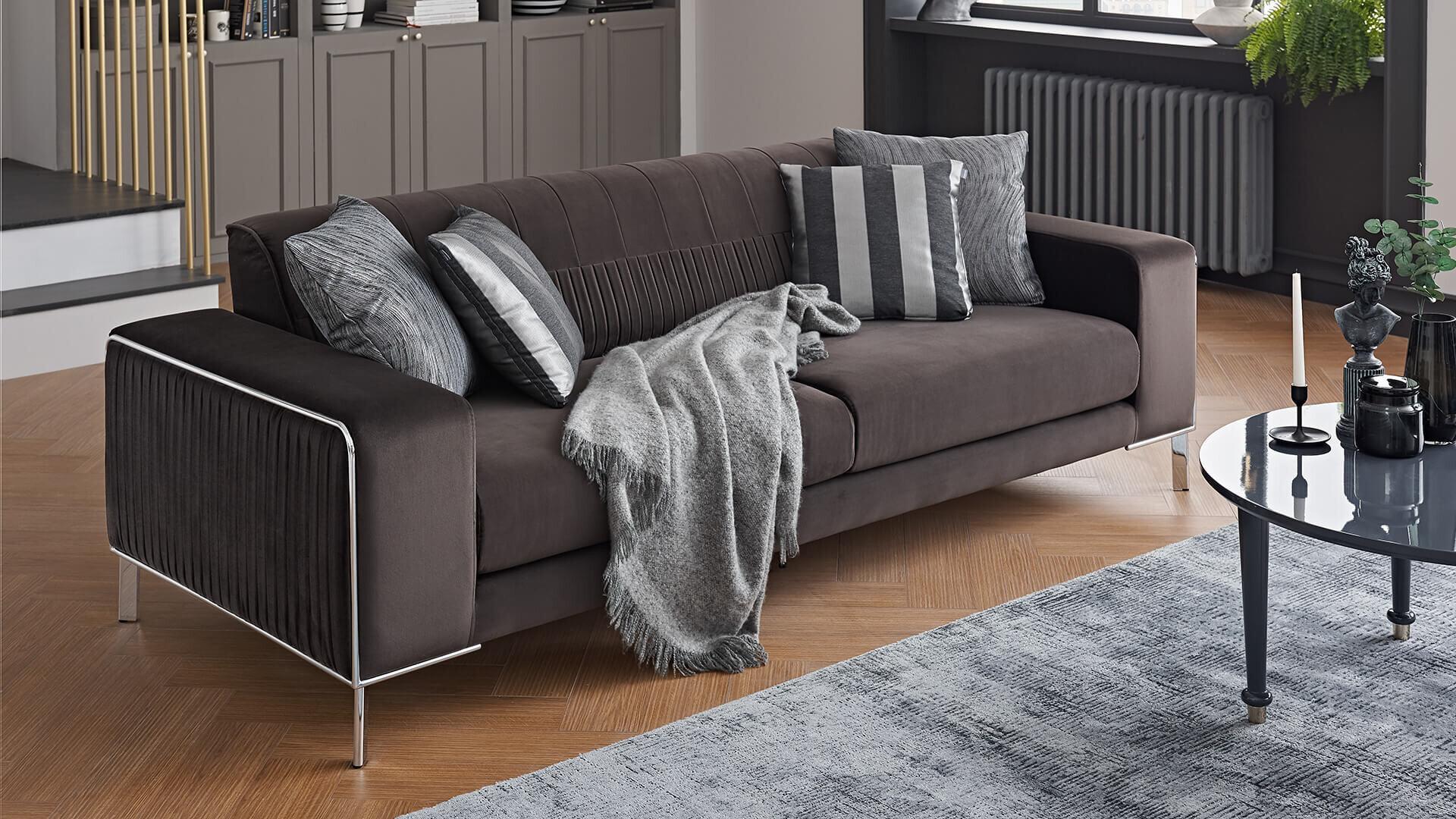 Adel Three Seater Sleeper Sofa