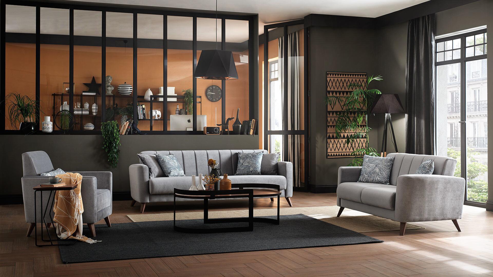 Loft Sofa Set