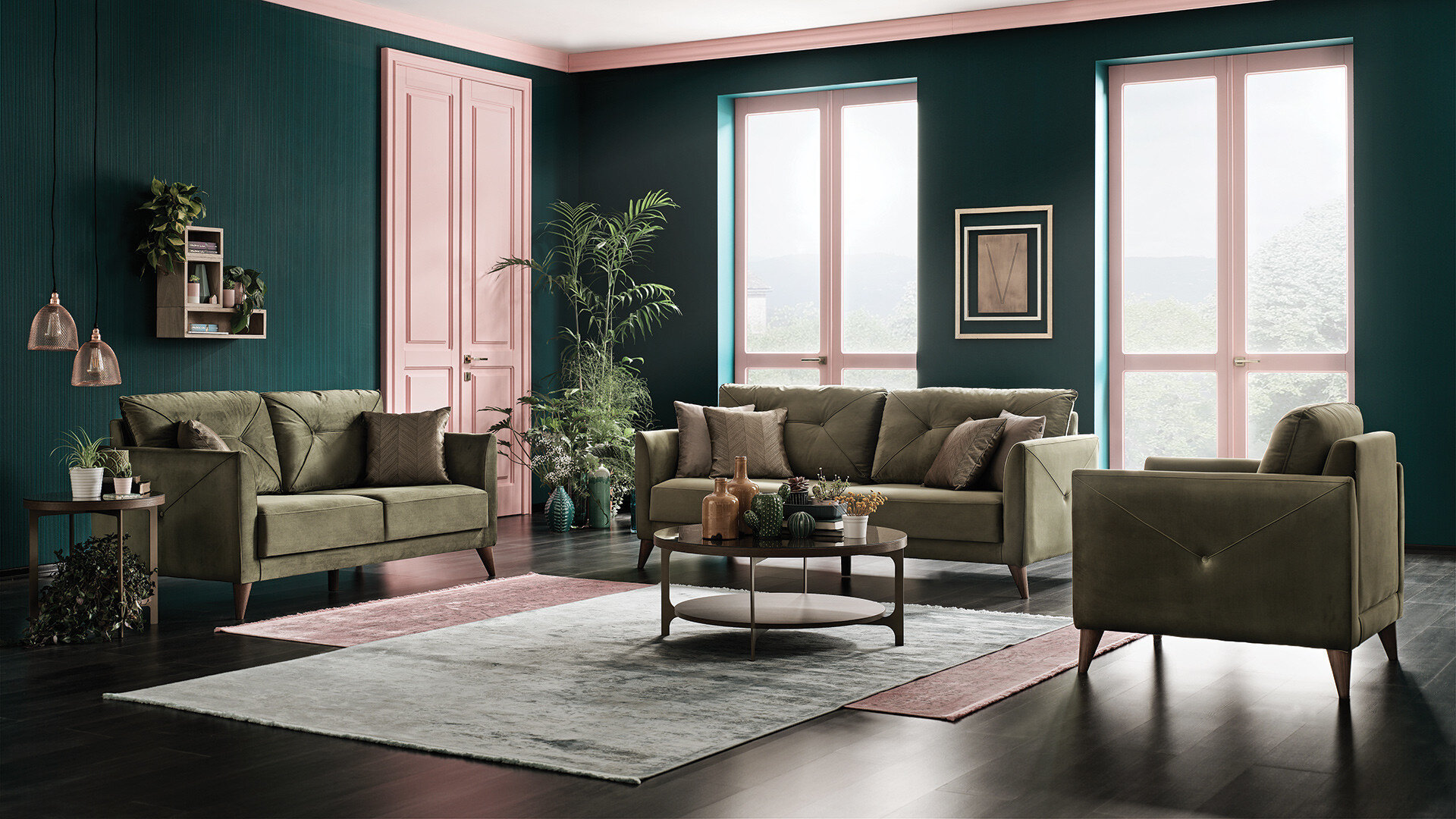 Mantini Sofa Set