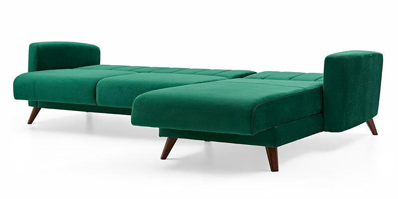 Loft Sleeper Storage Sectional Sofa