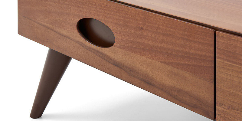 Verona Center Table (Natural Walnut)