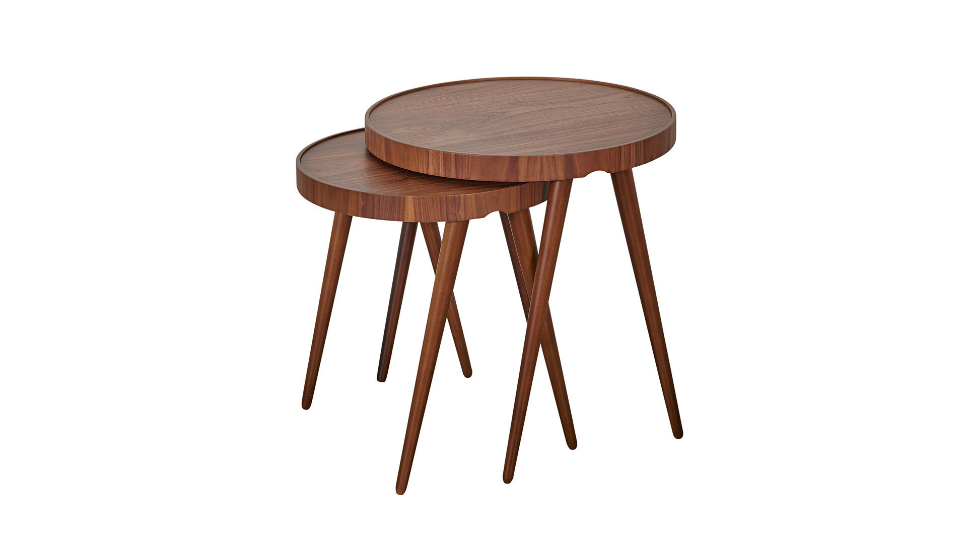 Adel Tables D`Appoint (Noyer Naturel)