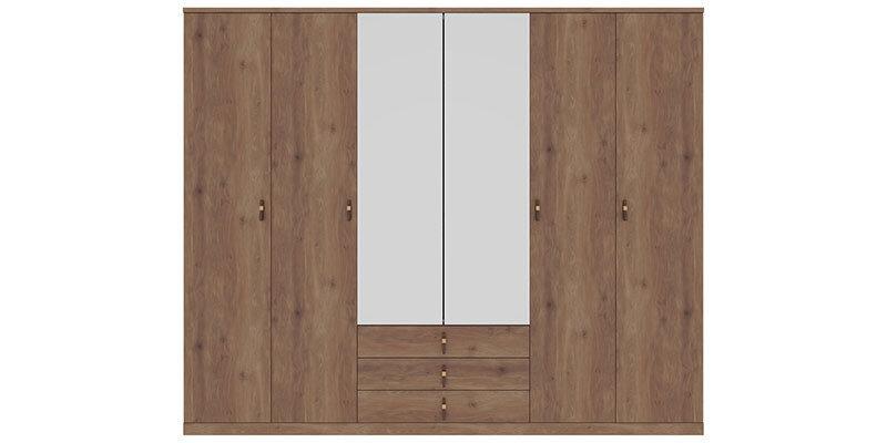 Ravenna 6 Doors Wardrobe