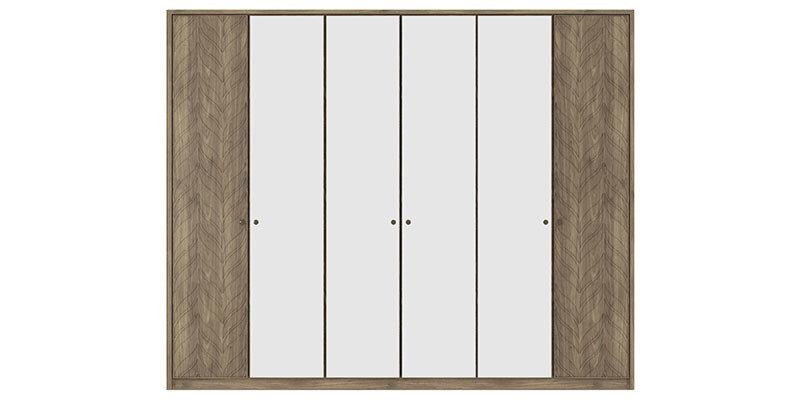 Piante 6 Doors Wardrobe