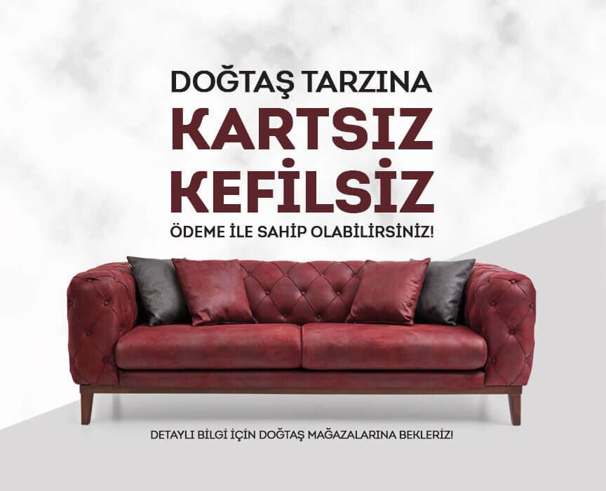 Kartsız kefilsiz alışveriş imkanı Doğtaş'ta
