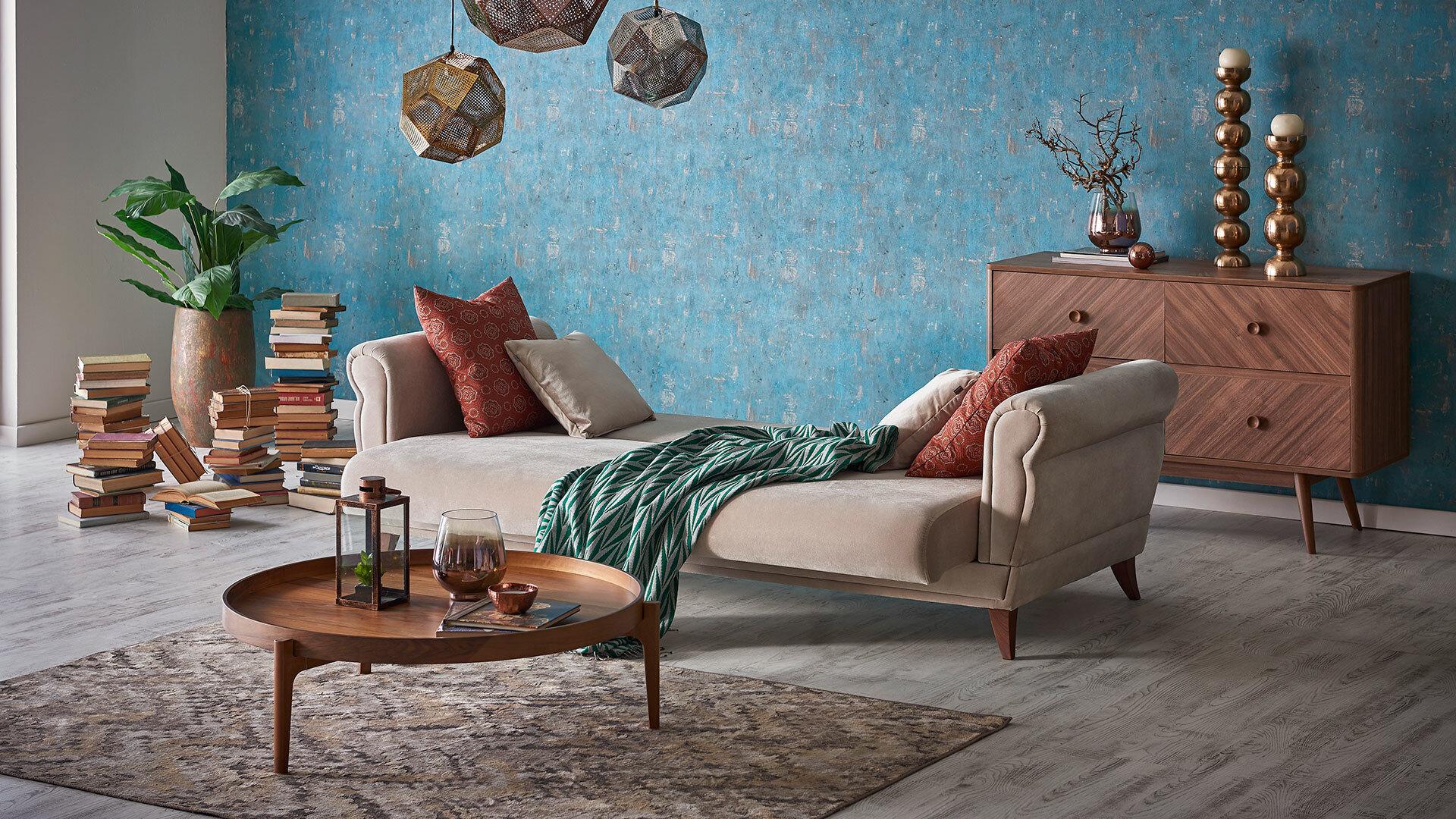 Clarissa Living Room Sofa Set