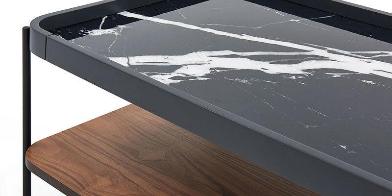 Fıgures Orta Sehpa G.Granit/A.Ceviz