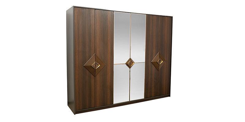 Valentin 6 Doors Wardrobe