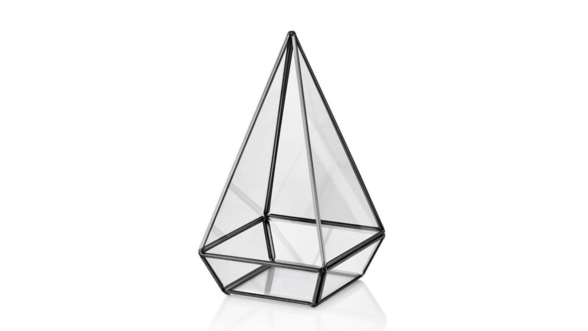 Matilda Pyramid Bell Glass