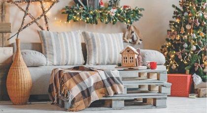 Evinizi Yeni Yıla Hazırlayın: Yılbaşı Ev Dekorasyonu