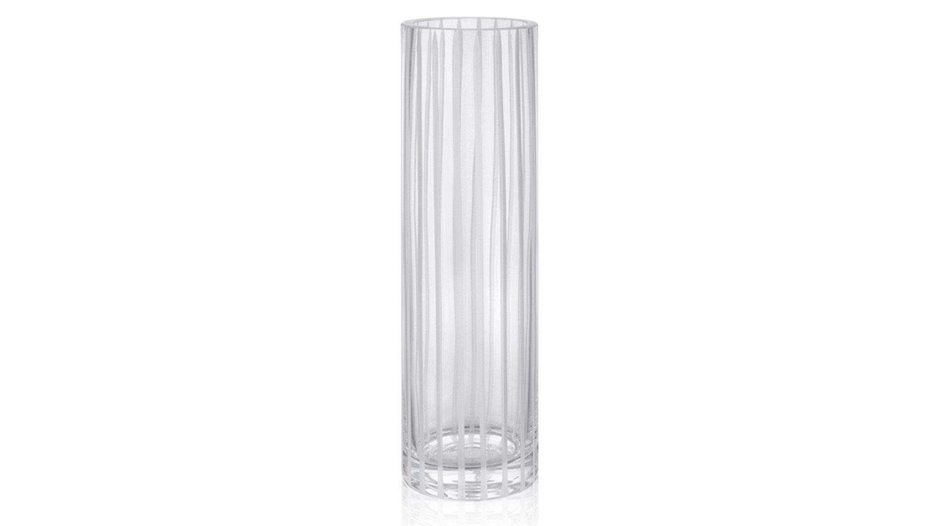 Larına Home-06  Beyaz Çizgili Vazo