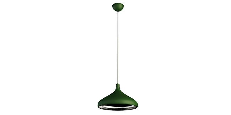 Gola Green Metal Pendant