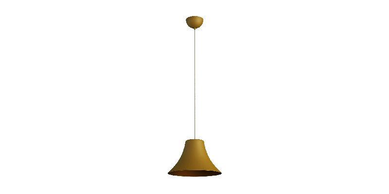 Gola Yellow Metal Pendant