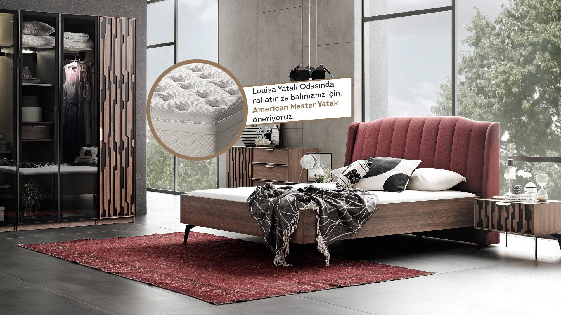 Louısa Yatak Odası