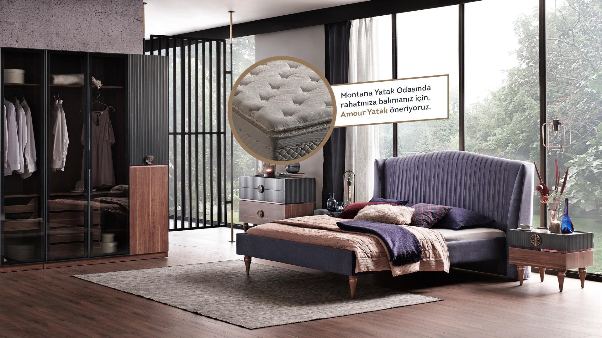 Montana Yatak Odası