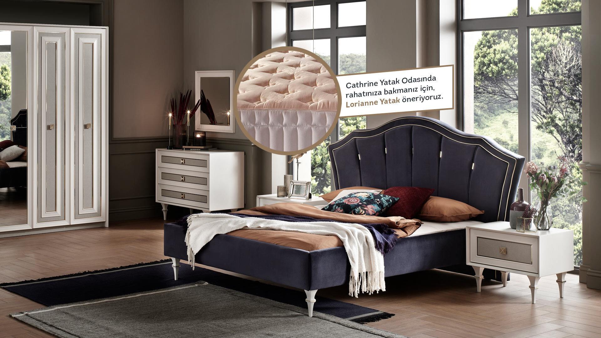Catherıne Yatak Odası