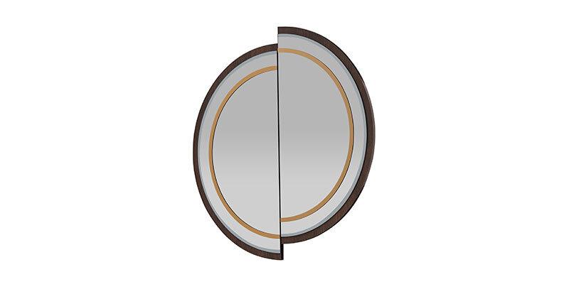 Matilda Nightstand-Console Mirror