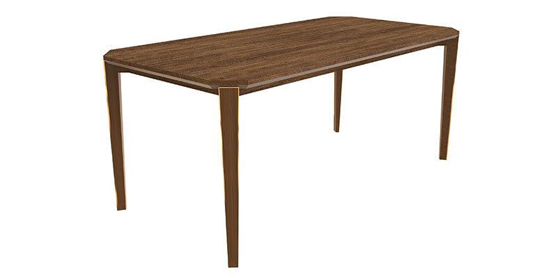 Lıkya Sabıt Yemek Masası 90X180