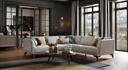 How to Decorate L Shaped Living Rooms