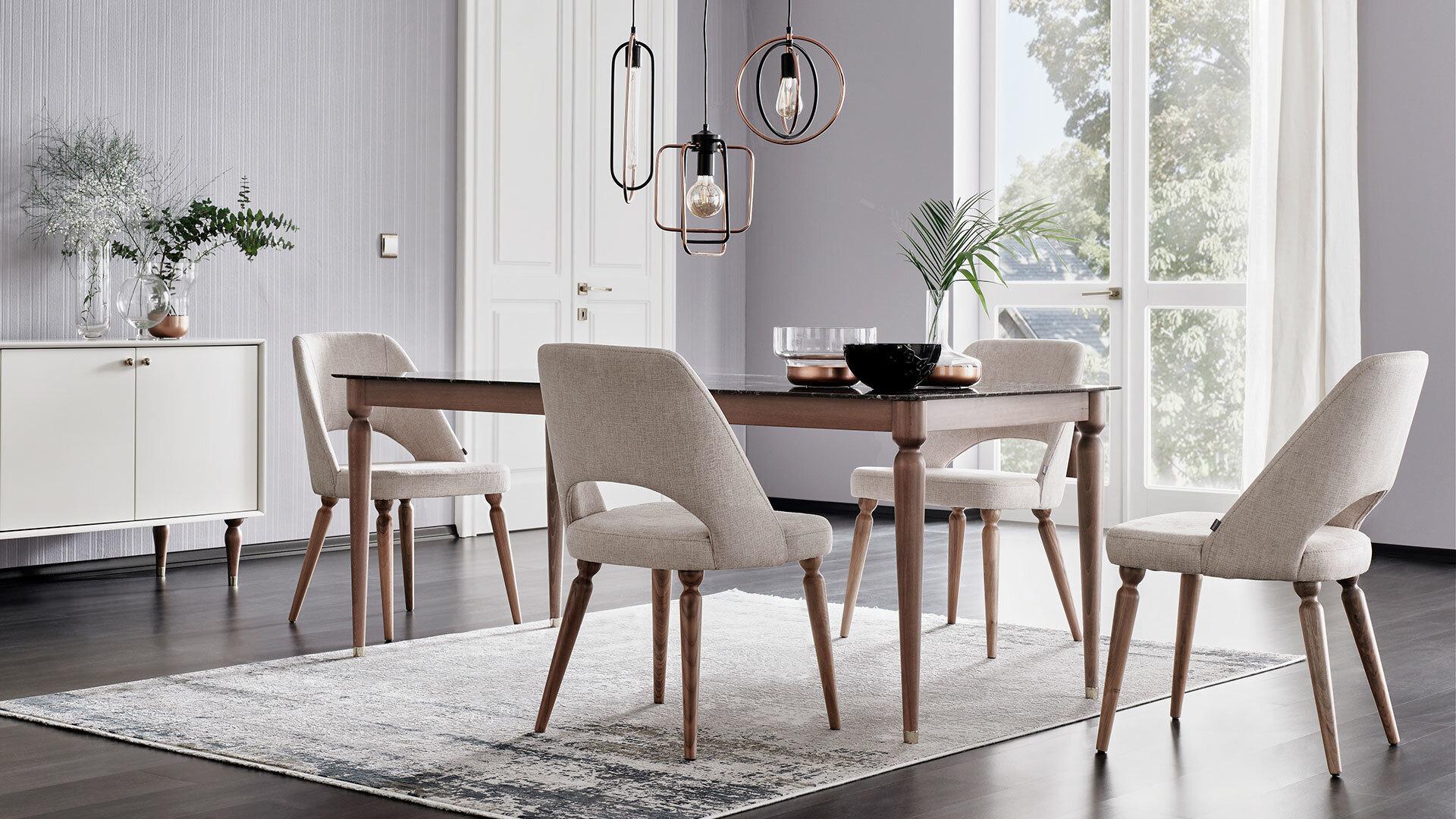 Floria Table - Effet Marbre
