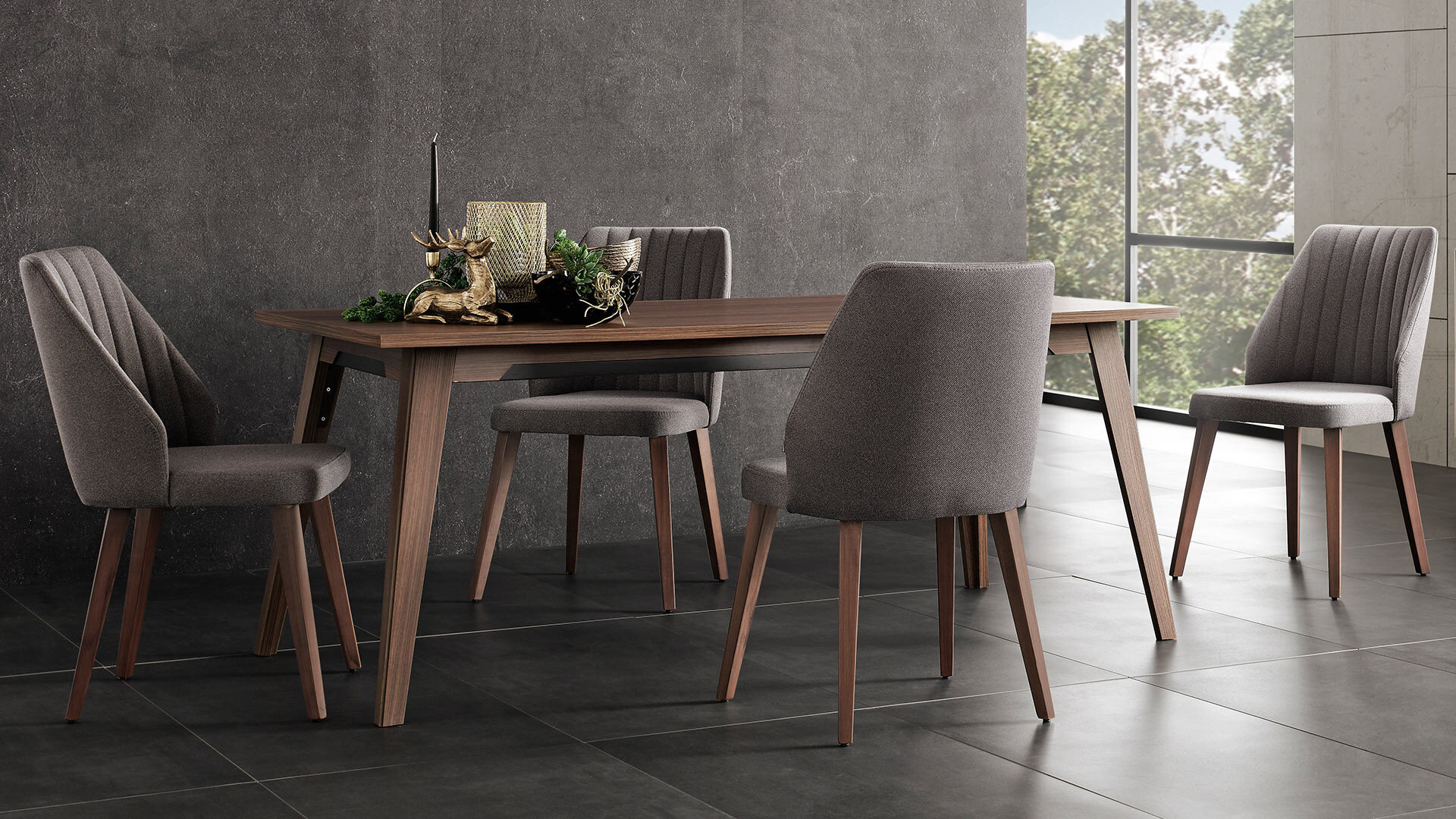 Louise Fixed Dining Table