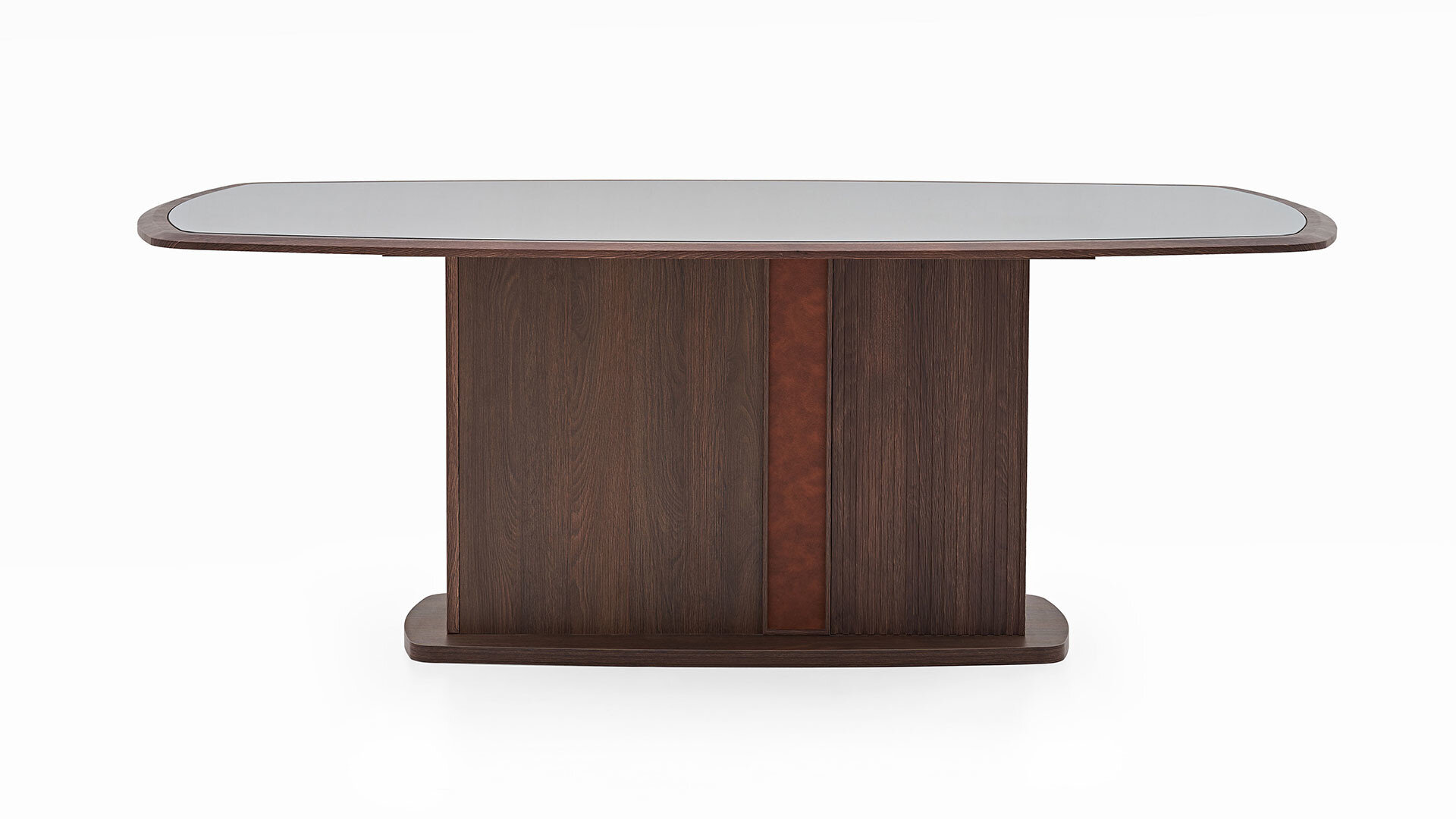 Matilda Fixed Dining Table - With Glass