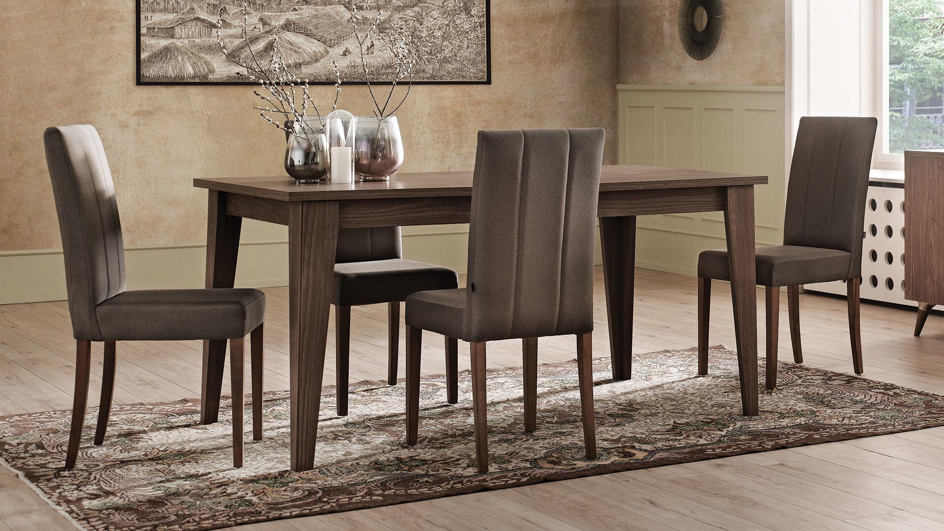 Clara Draw Dining Table 90X160cm