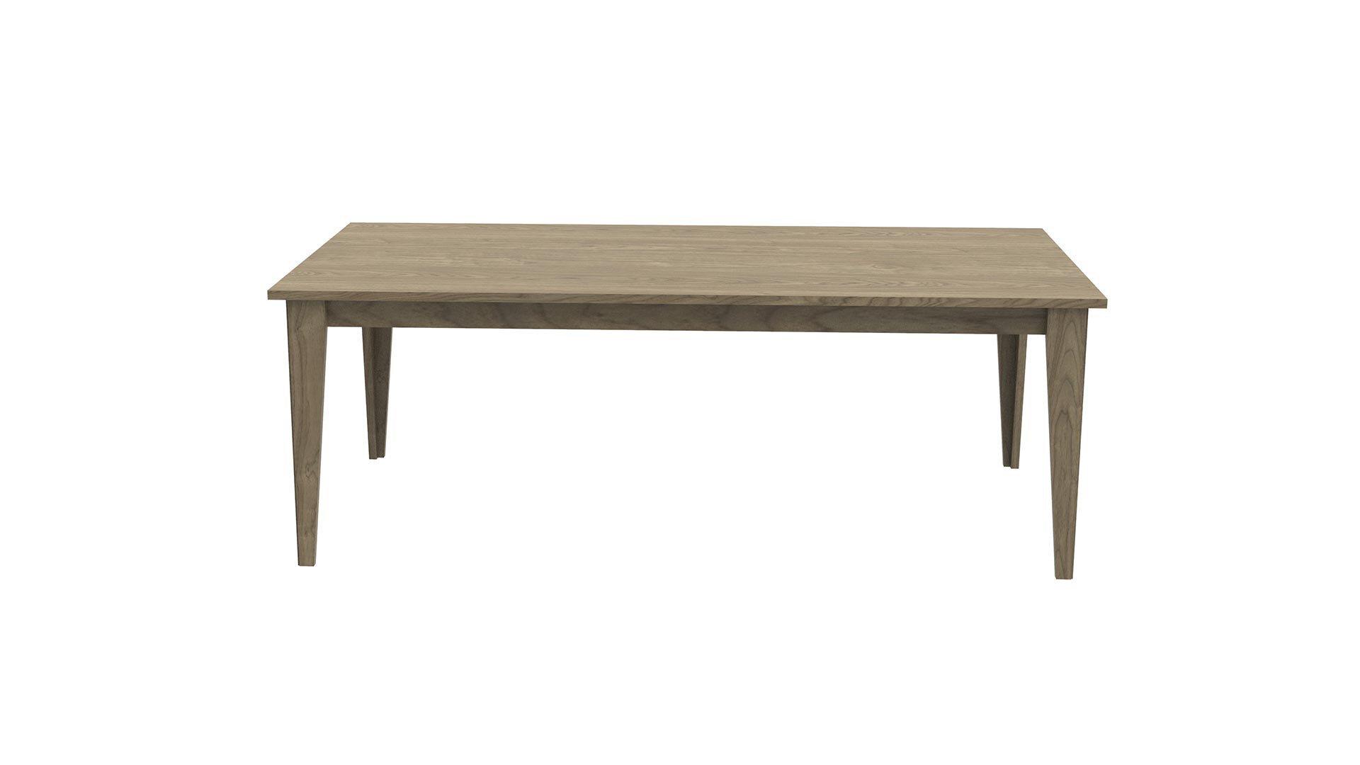 Clara Fixed Dining Table 110X220