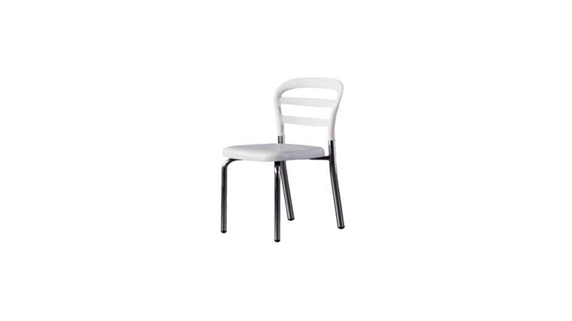 Noa Mutfak Sandalyesi (Beyaz)