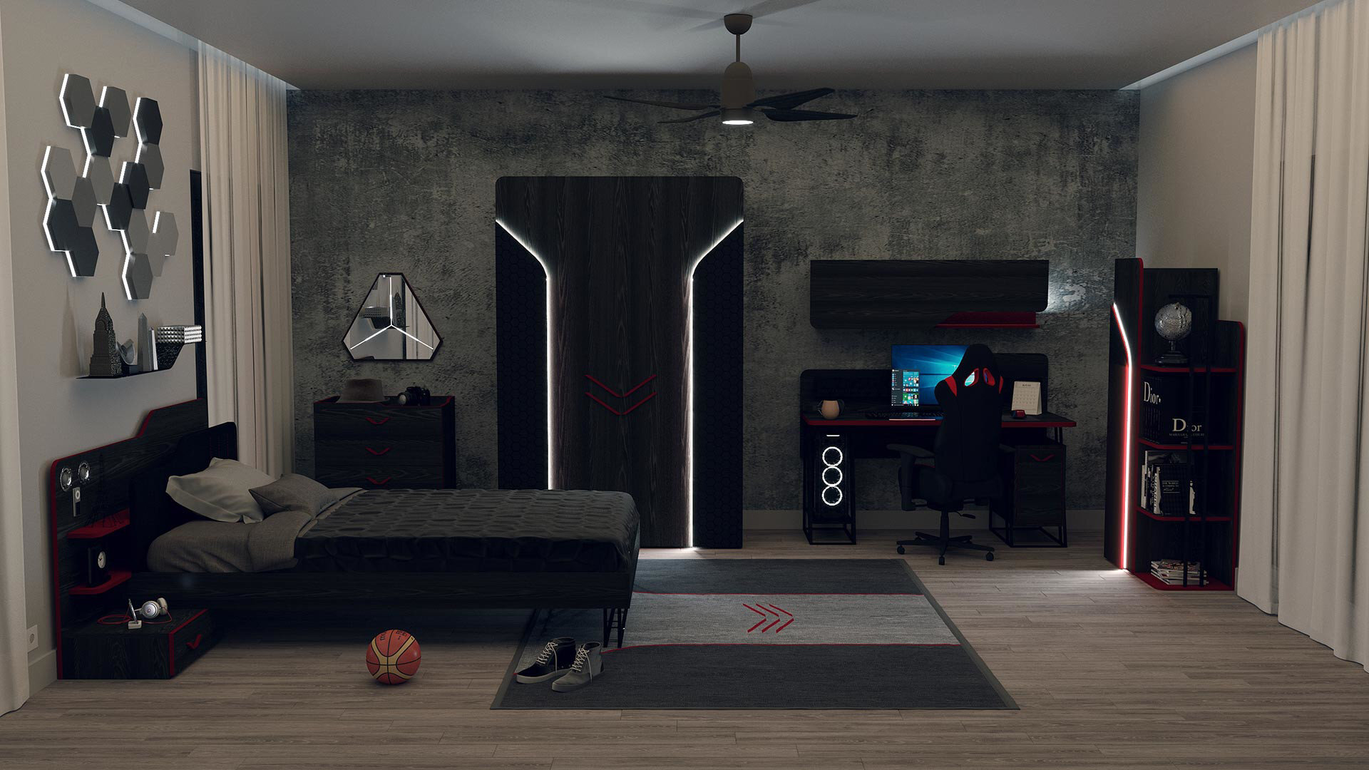 Gamer 120 Bedstead Casing