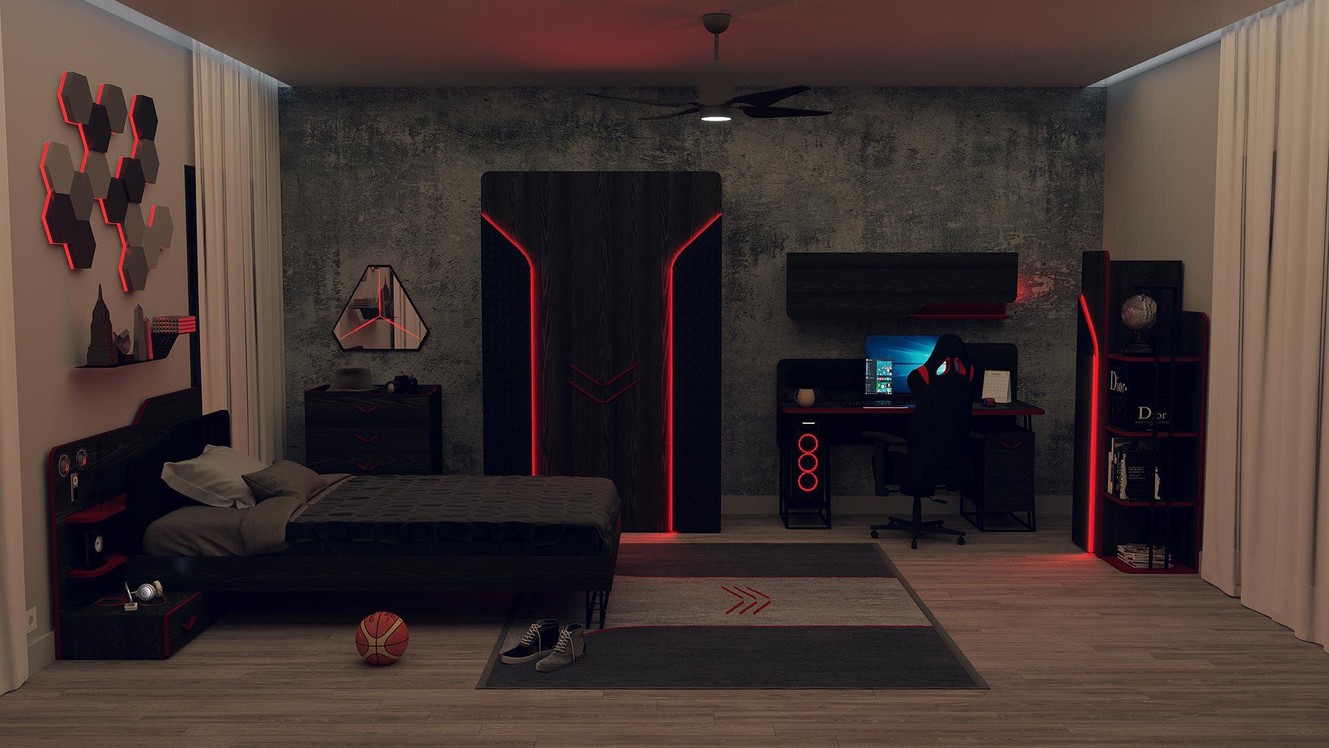 Bureau De Travail Gamer