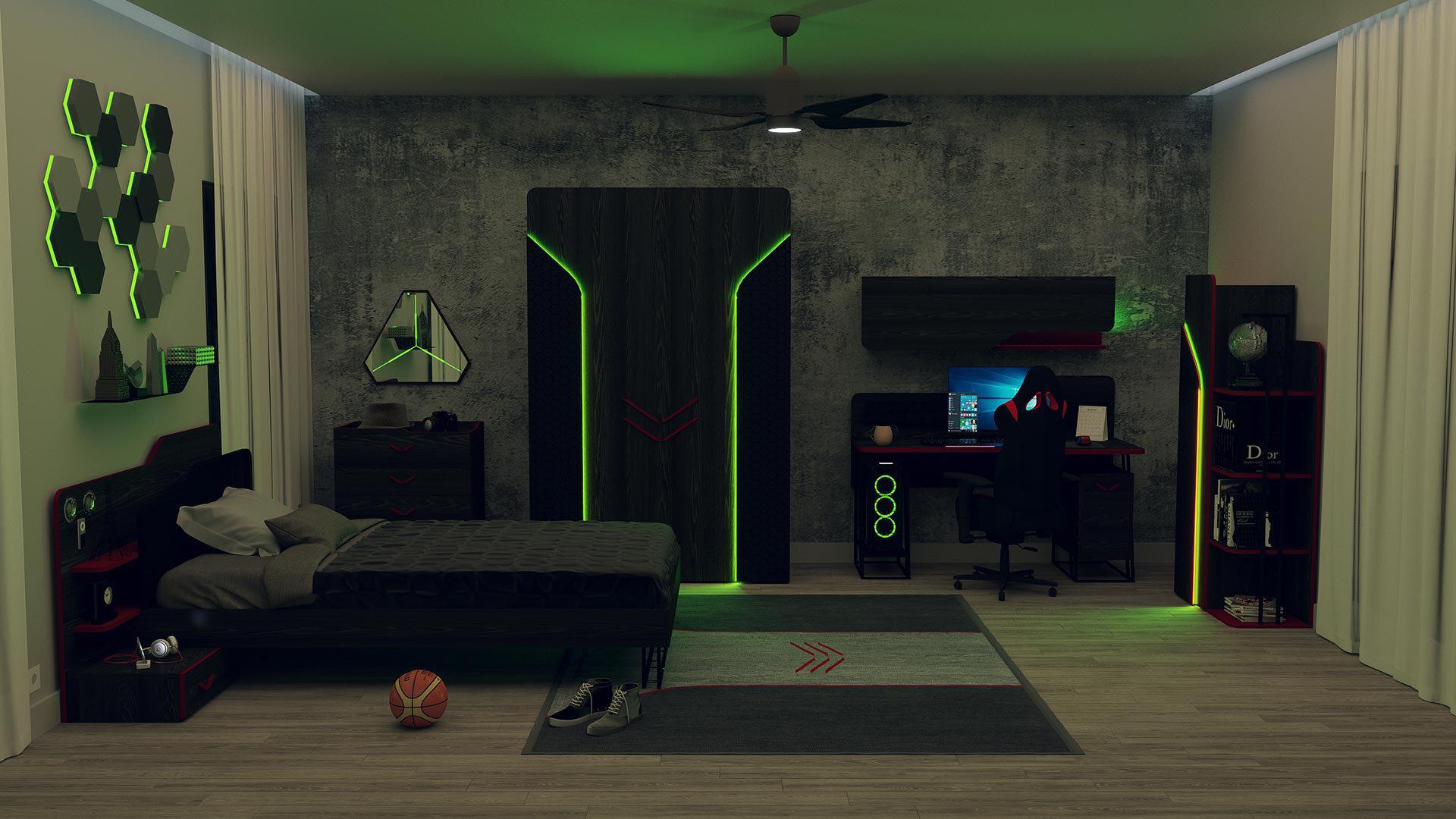 Gamer Oyuncu Koltuğu