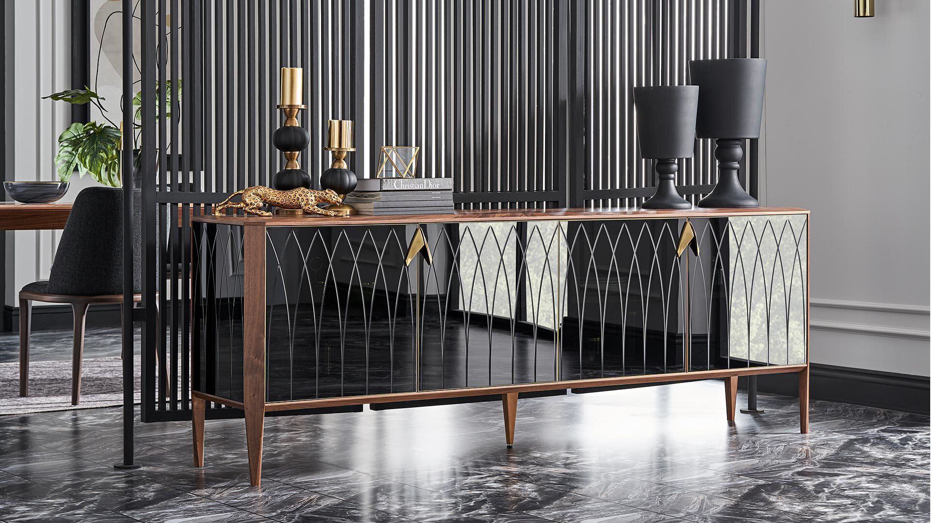 Logan Fixed Dining Table