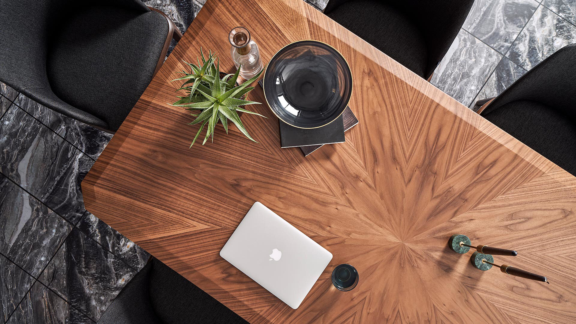 Logan Marquetry Coffee Table