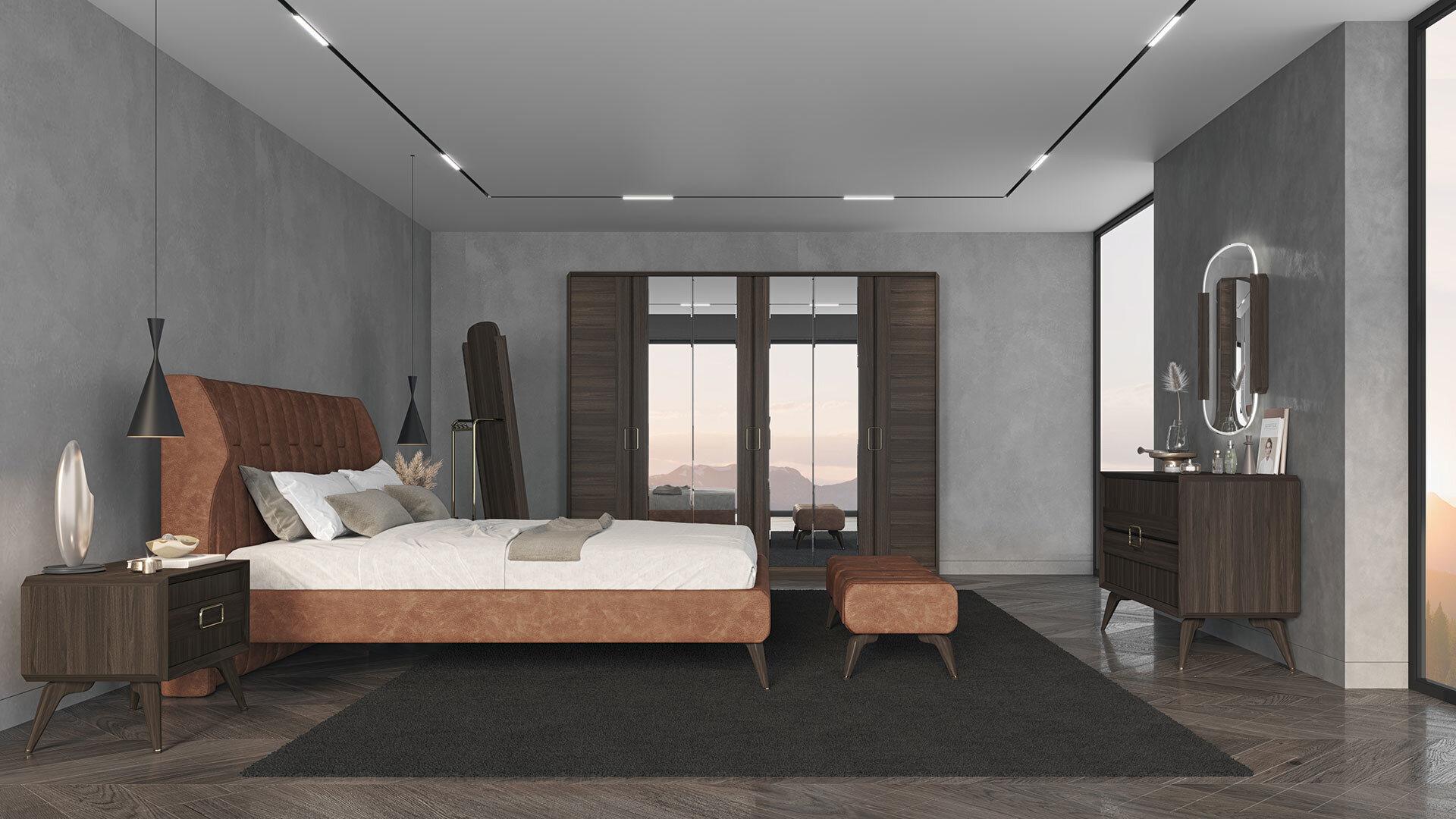 Venera Home-07 Yatak Odası Halı