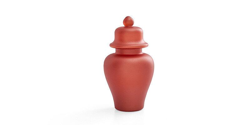 Lıkya Home-08 Turuncu Vazo - Küçük