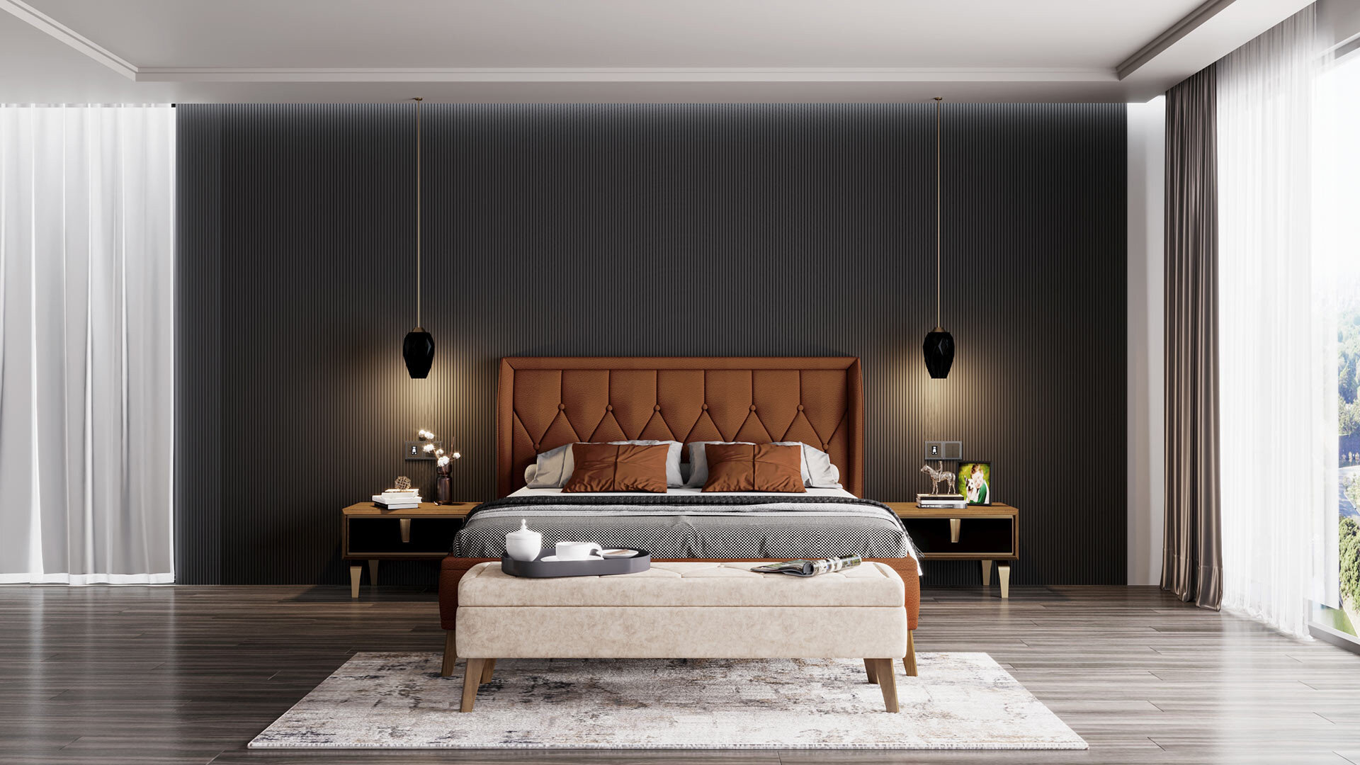 Carbon Yatak Odası Takımı